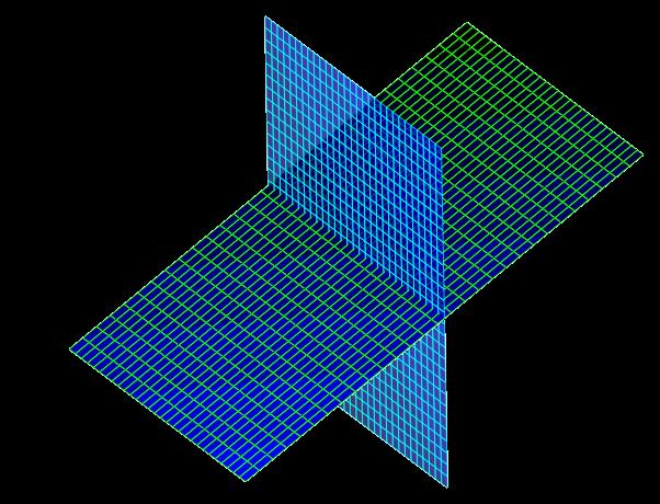 Перпендикулярные плоскости