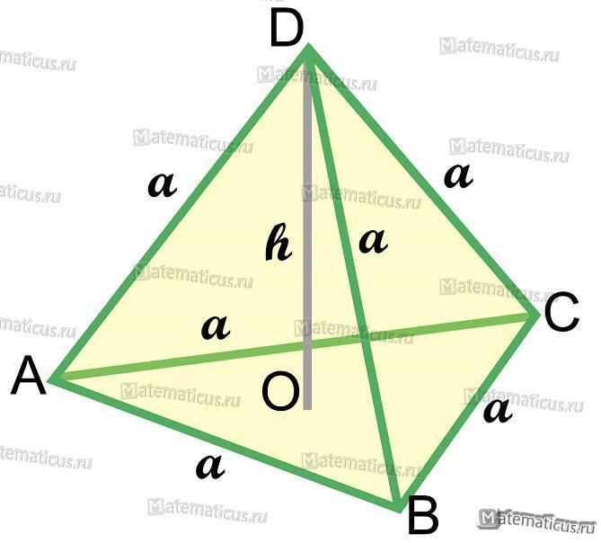 тетраэдр
