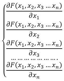 формула производного частного функции