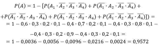 Теорема умножения вероятностей пример с решением