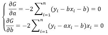 Метод наименьших квадратов уравнение