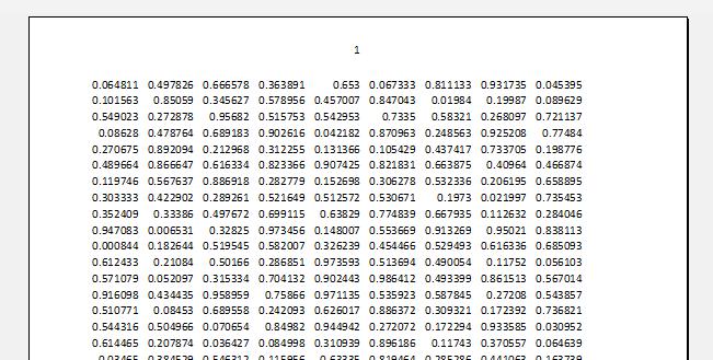 Нумерация при печать листа Excel