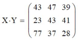 Умножение матрицы на матрицу