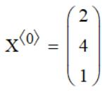 матрица столбец mathcad