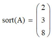 сортировка вектора