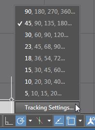 Tracking Settings