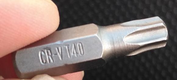 насадка звездочка CR-V T40