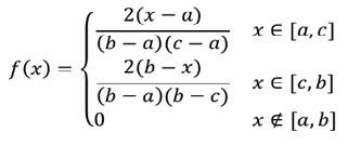 distribution density