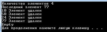 Queue на C++ STL
