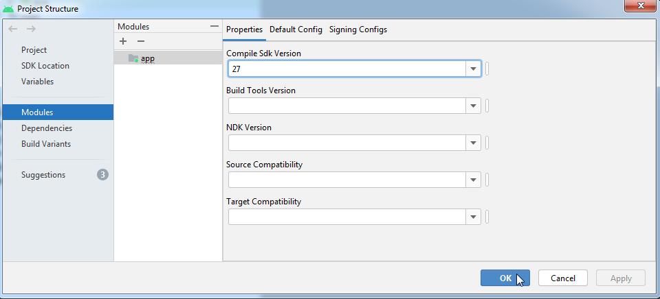 Compile SDK Version