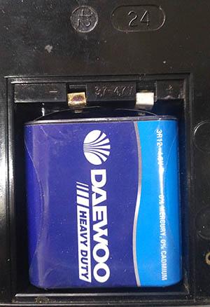 Ц4313 батарея