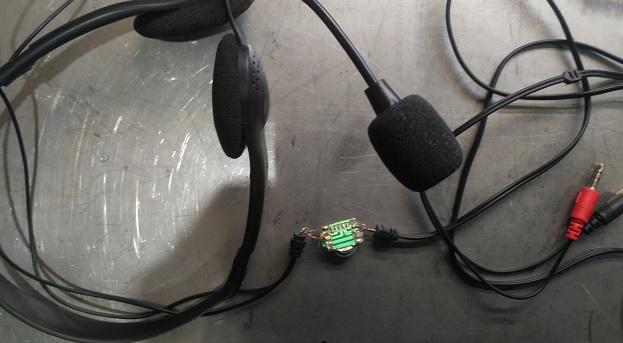 Микрофон с наушниками для компьютера