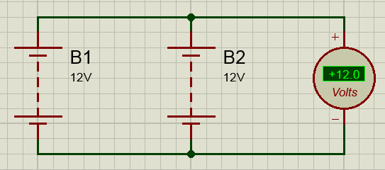 Параллельное соединение аккумуляторов схема
