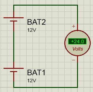 Последовательное соединение аккумуляторов схема