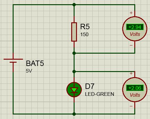 Расчет сопротивления резистора для светодиода