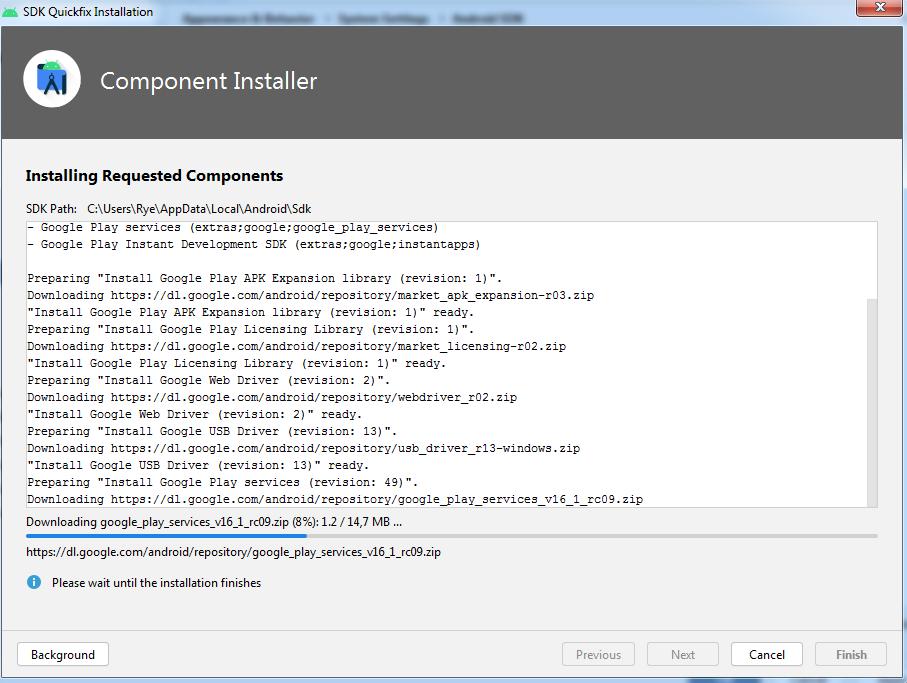 SDK Quickfix Installation