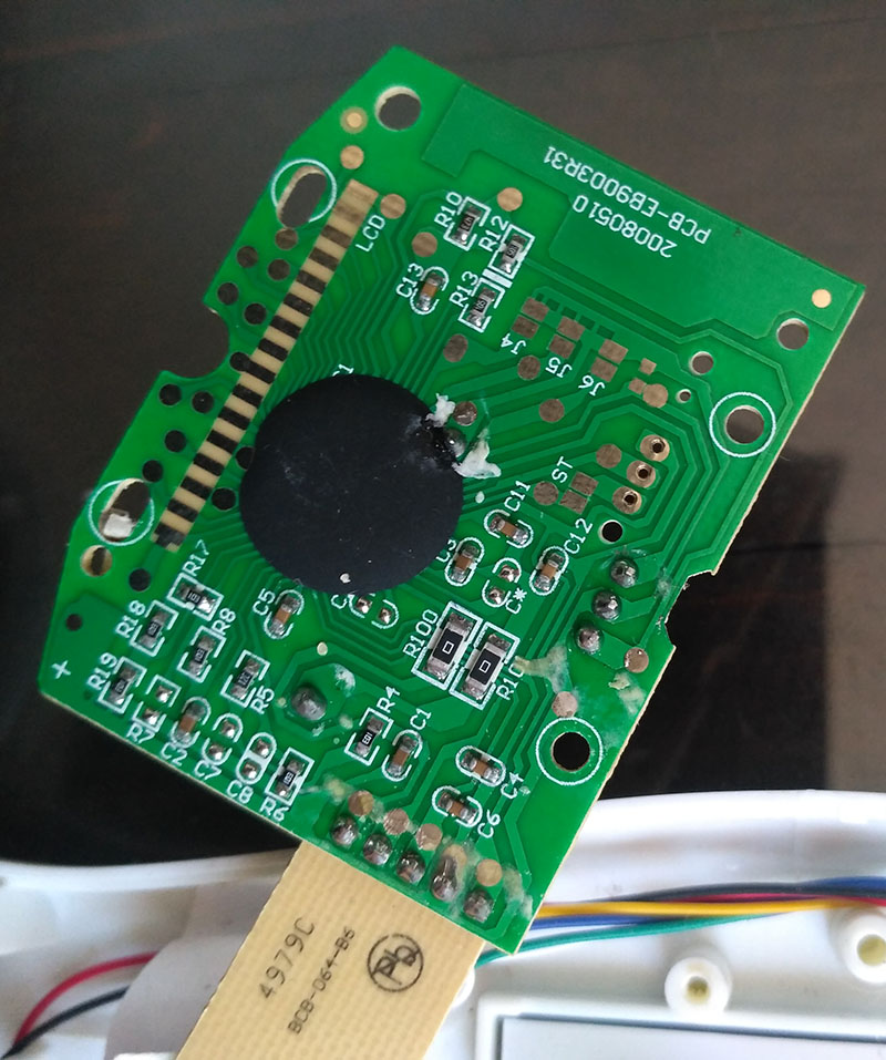 микроконтроллер напольных весов
