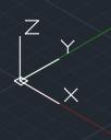 оси координат X Y Z