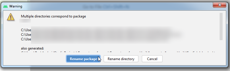 rename package