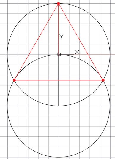 треугольник вписан в окружность 120 градусов
