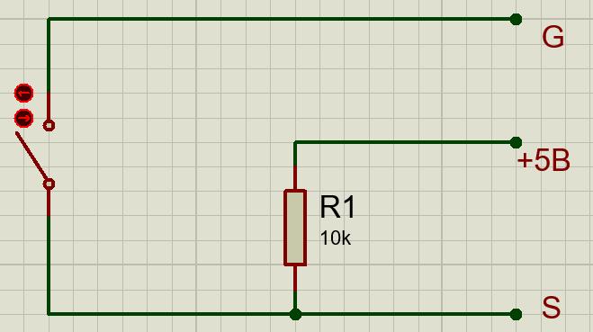 Датчик вибрации KY-002 схема