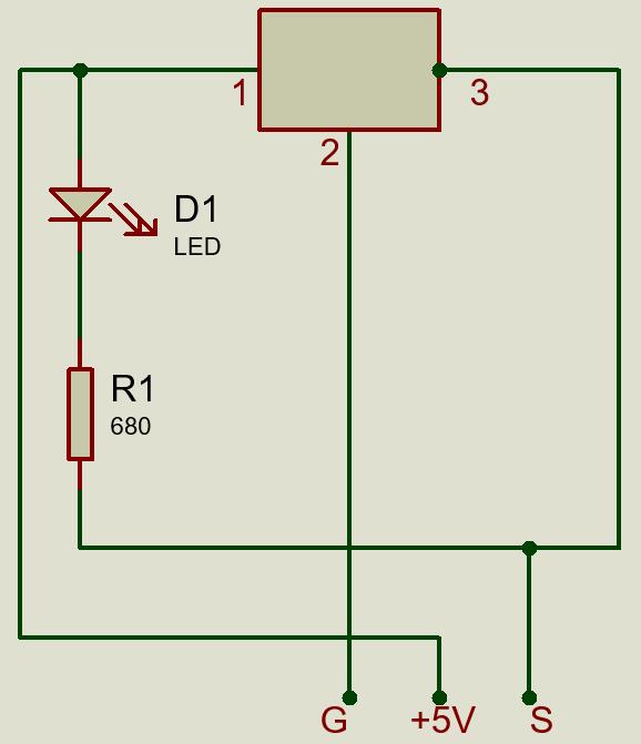 KY-003 принципиальная схема датчика