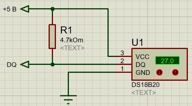 Схема подключения термодатчиков DS18B20 к arduino