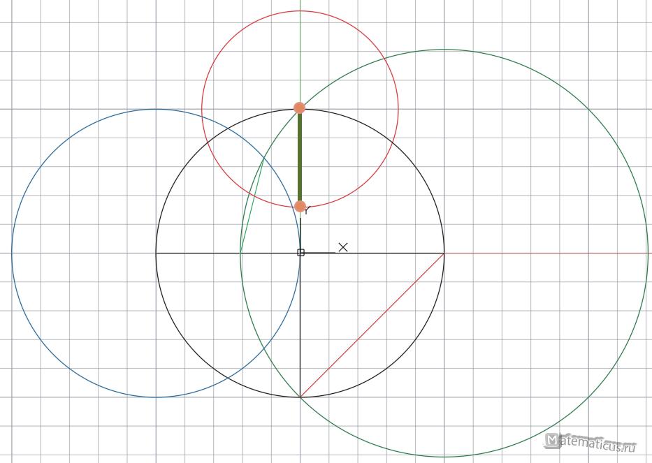 чертим девятиугольник