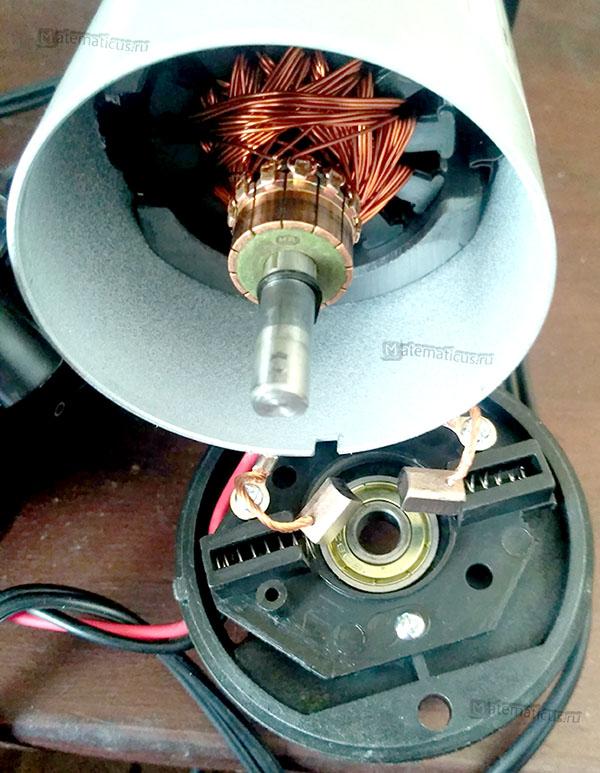 электродвигатель со щётками