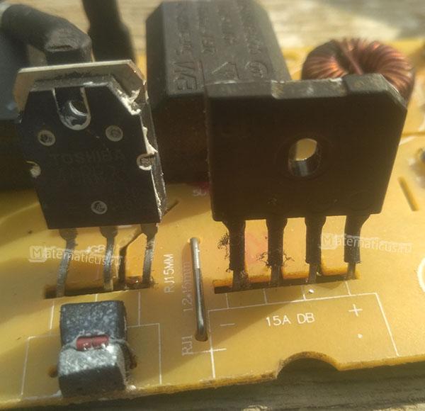 GBU 15K 1429 и полевой транзистор toshiba 40RR23